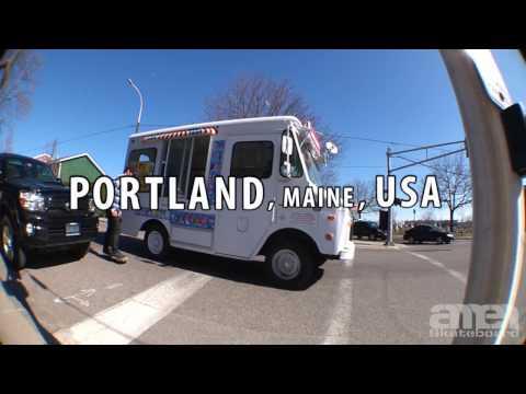 Skate Trip to Portland & Augusta, Maine USA