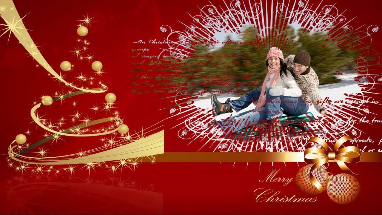 Montajes De Felicitaciones De Navidad.Tutorial Photoshop Creando Masks Wallpaper Navidad
