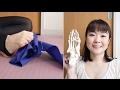 バレエの足 #5 エクササイズ:5本指でゴムをつかむ