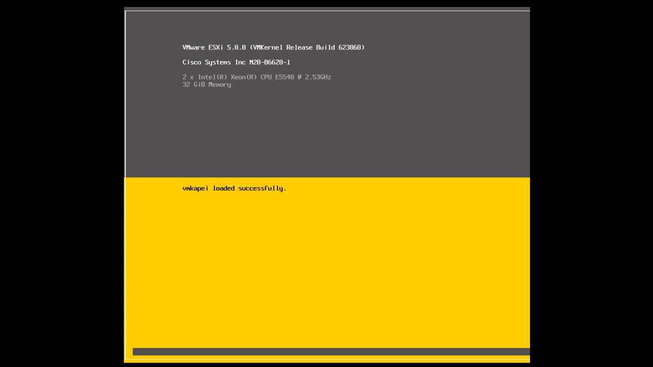 Esx5 installation - How to install VMware ESXi 5 via CIMC on Cisco UCS  C-Series