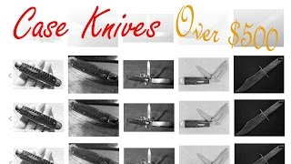 Video 5 Vintage Case Knives That sold for over 500 Bucks on Ebay (not mine) I wish :] download MP3, 3GP, MP4, WEBM, AVI, FLV Juni 2018