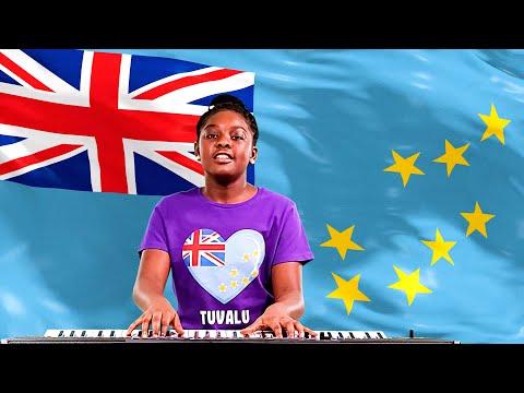 National Anthem of Tuvalu - Tuvalu mo te Atua Played By Elsi