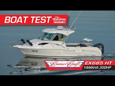 Boat Test: Cruise Craft EX685HT With Yamaha 300HP