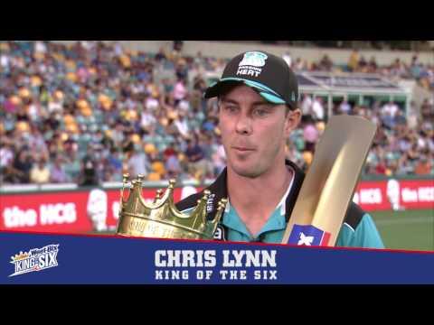 Chris Lynn is the Weet-Bix King of the Six