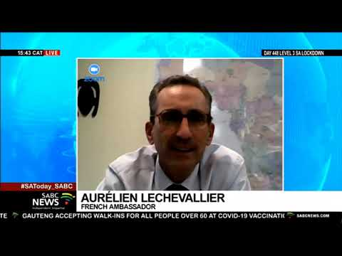 SA French Embassy's decision to launch own vaccination programme: Amb. Aurélien Lechevallier