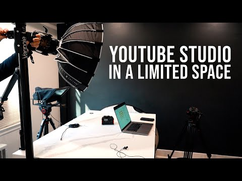 How to Setup a YouTube Studio in a Small Space