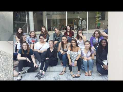 Art Club Visits Modern Museum of Art