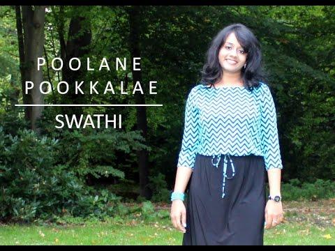 Poolane / Pookkalae - I movie Cover by Swathi Bekkera