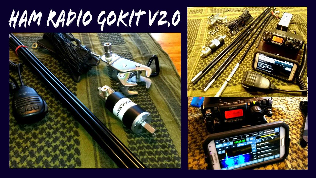 Ham Radio Go Kit v2.0 [EMCOMM] - YouTube