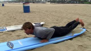 """Learn To Surf"" Natural Surf Technique for beginner surfers"
