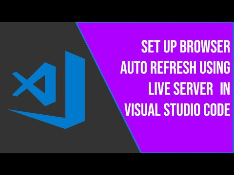 How To Set Up Browser Auto Refresh | Live Preview In Visual Studio Code Using Live Server