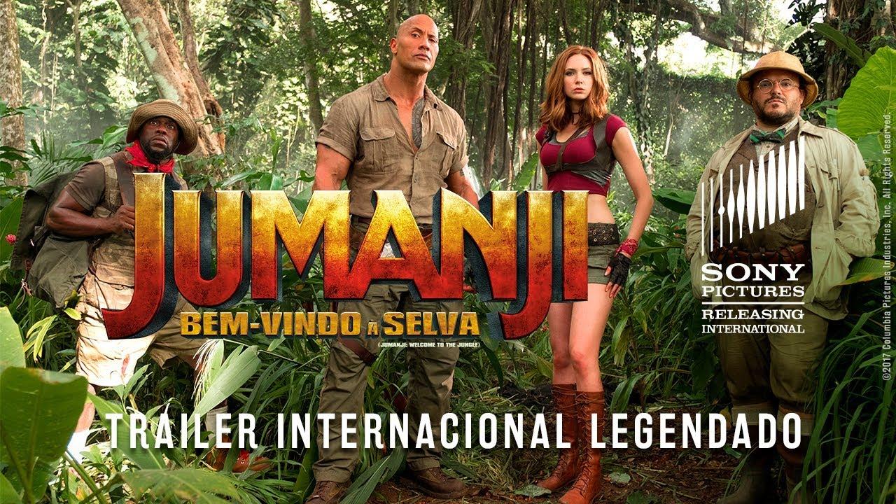 Jumanji: Bem-vindo à Selva | Trailer Internacional (Legendado)