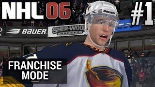 NHL 06 Dynasty Mode | Atlanta Thrashers | EP1 | LET THE NOSTALGIA KICK IN