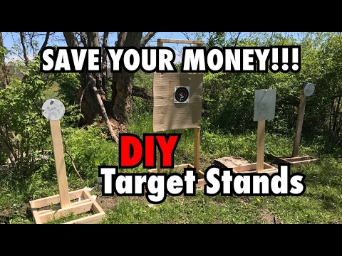 SAVE YOUR MONEY | DIY Target Stands!!