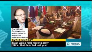 Chossudovsky: Foreign Powers Behind Syria Unrest
