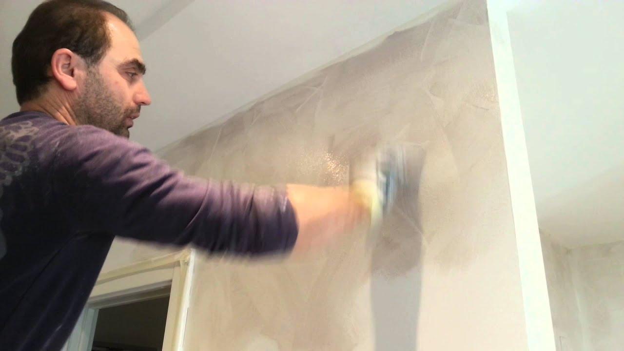 Lo spatolato rappresenta una delle tecniche di imbiancatura più innovative ed è caratterizzata dalle. Tutorial Pittura Decorativa Vento Di Sabbia Youtube
