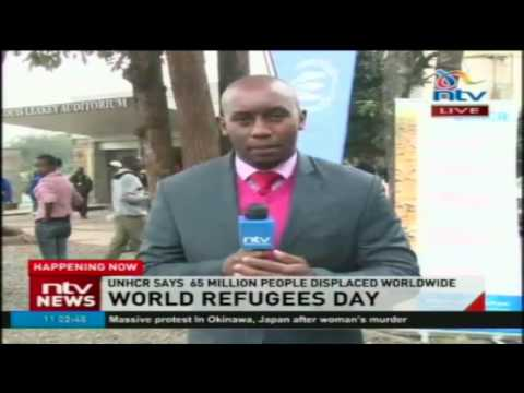 World Refugees Day: UNHCR says  65 million people displaced worldwide