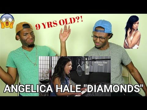 Rihanna - Diamonds Amazing Cover by 9 year old Angelica Hale!! (REACTION)