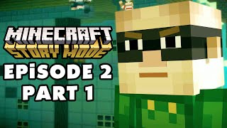 Minecraft: Story Mode - Episode 2: Assembly Required - Gameplay Walkthrough Part 1 (PC)