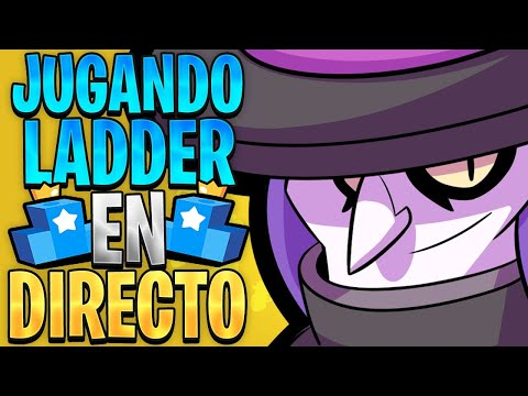 JUGANDO LADDER Del CHILL En Brawl Stars | Sr Trash