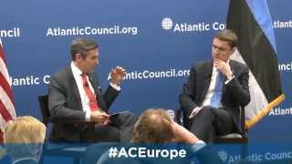 Forging a Transatlantic Strategy for Europe's East with the PM of Estonia H.E. Taavi Rõivas