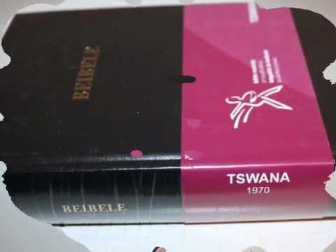 Setswana Bible Pdf