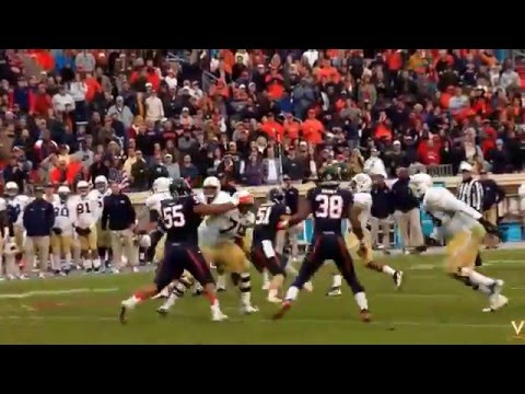 Micah Kiser University of Virginia 2015 Football Highlights