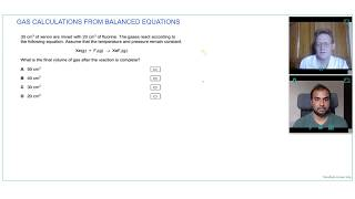 QUICK GASEOUS MOLAR CALCULATIONS | Online A Level Chemistry Tutor