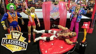 WWE Flashback Elite Action Figure Series With Build A Playset Review - Walmart Exclusives