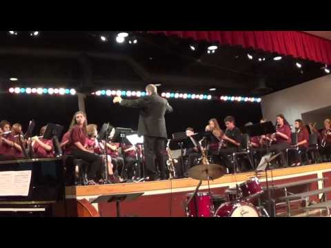 Lindero Canyon Middle School Concert Band 2017: Pirates of The Caribbean: At World's End