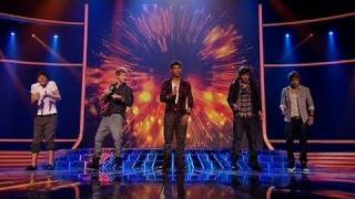 One Direction sing Viva La Vida - The X Factor Live - itv.com/xfactor