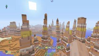 Minecraft / 2 Awesome Seeds / Massive Mesa Biome/Mesa Bryce, Ice Spikes W/ Mega Taigas