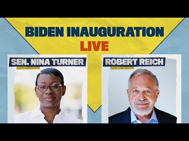 Joe Biden's Inauguration | Discussion with Robert Reich and Nina Turner