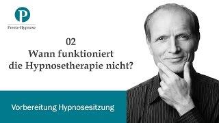 Wann funktioniert die Hypnosetherapie nicht?