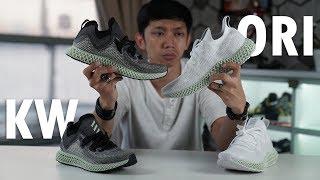 Perbedaan Adidas 4D KW Dan OR G NAL