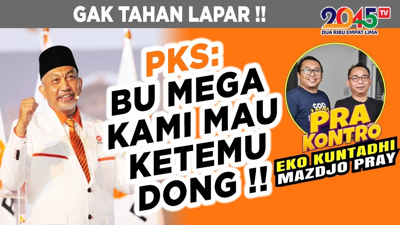 Download Eko Kuntadhi & Mazdjo Pray: PKS: BU MEGA, KAMI MINTA KETEMU DONG !! (Pra Kontro #109)