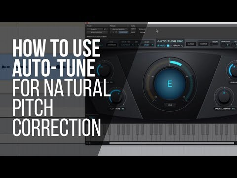 How To Use Auto-Tune For Natural Pitch Correction (or an effect) – RecordingRevolution.com
