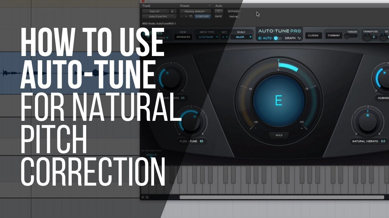 How To Use Auto-Tune For Natural Pitch Correction (or an effect) -  RecordingRevolution com