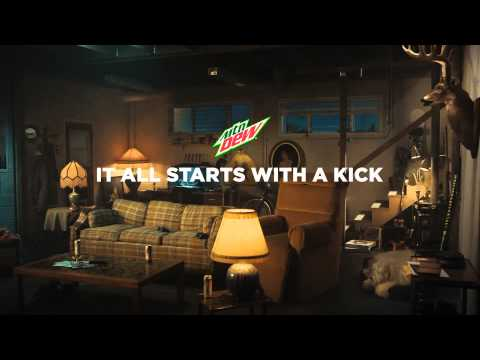 Mountain Dew Kickstart Commercial It All Starts with a Kick