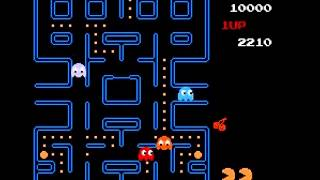 Pac-Man (Tengen) - Pac-Man Level 1 (Tengen) (NES) - User video