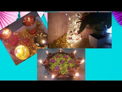 3 diwali decoration ideas  #threeideasfrdiwali #threediytodecoratehomeondiwali #diwalidecoration#sow