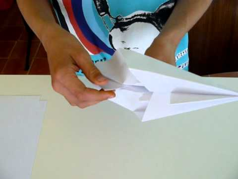How to make a paper airplane2 ? (Avro Vulcan)
