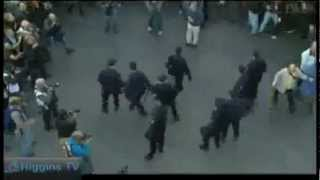 Inspiring - Spanish Protesters Repel Police
