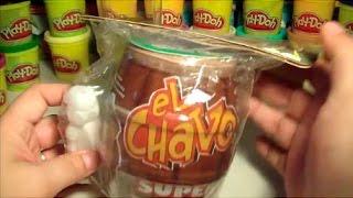 Barril Sorpresa GIGANTE de El Chavo Animado con Figura 3d, Sorpresa Dulces y Tatuaje