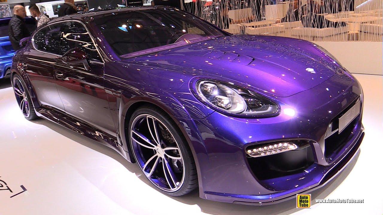 2016 Porsche Panamera Turbo S Executive TechArt Grand GT