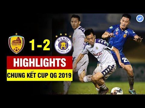 Highlights Quảng Nam 1-2 Hà Nội   Văn Quyết Tỏa Sáng Rực Rỡ - Hà Nội Ngược Dòng Vô địch   31/10/2019