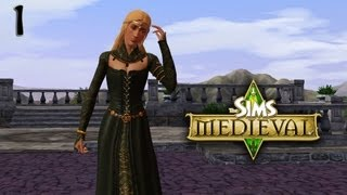 Lets Play The Sims Medieval (Part 1) - Throne Room!