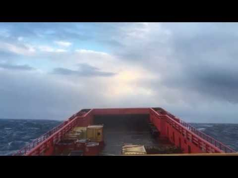 Ship in Storm (Supply Ship)
