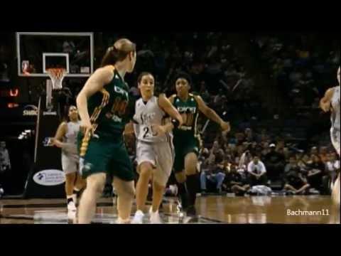 Becky Hammon San Antonio Silver Stars 2010-2012