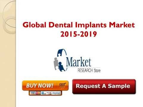 Global Dental Implants Market- Share, Size, Forecast  2015 2019